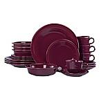 Fiesta® 20-Piece Dinnerware Set in Claret