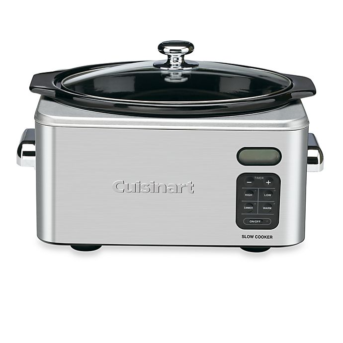 Alternate image 1 for Cuisinart® 6.5 qt. Programmable Slow Cooker