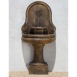 Campania Valencia Outdoor Fountain in Pietra Vecchia