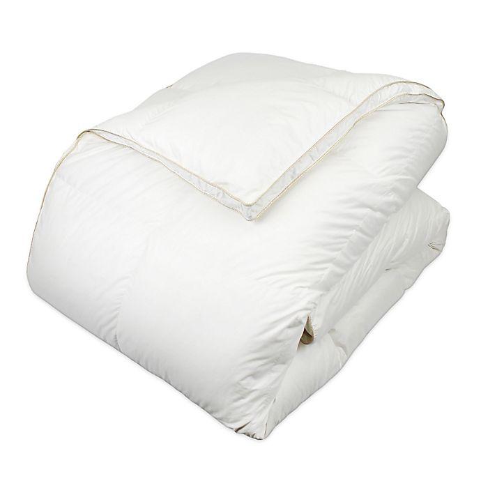 Alternate image 1 for Glucksberg European Goose Down Comforter in White