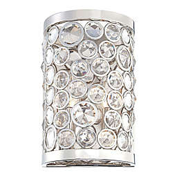 Metropolitan Magique 11-Inch 2-Light Wall Sconce in Polished Nickel