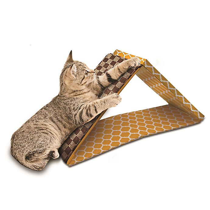 Alternate image 1 for OurPets 2 in 1 Dual Incline Cat Scratcher