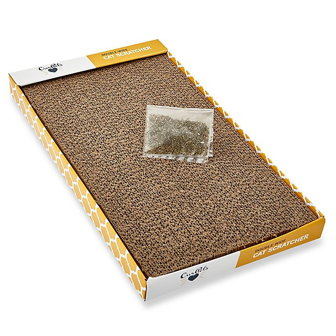 Alternate image 1 for OurPets® Double Wide Corrugate Cat Scratcher