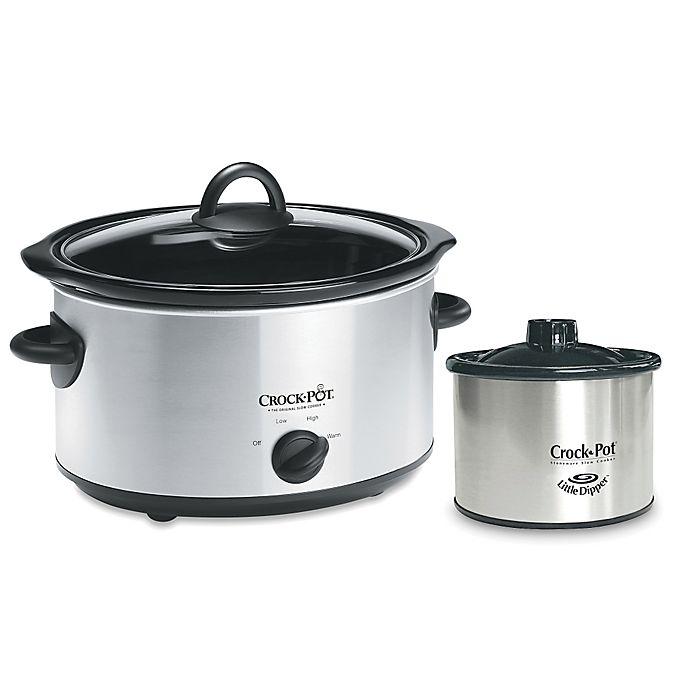 Alternate image 1 for Crock-Pot® 5 qt. Slow Cooker with 1 qt. Little Dipper