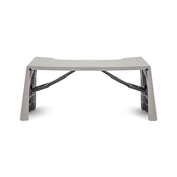Surprising Squatty Potty Porta Squatty Foldable Toilet Stool In Grey Machost Co Dining Chair Design Ideas Machostcouk