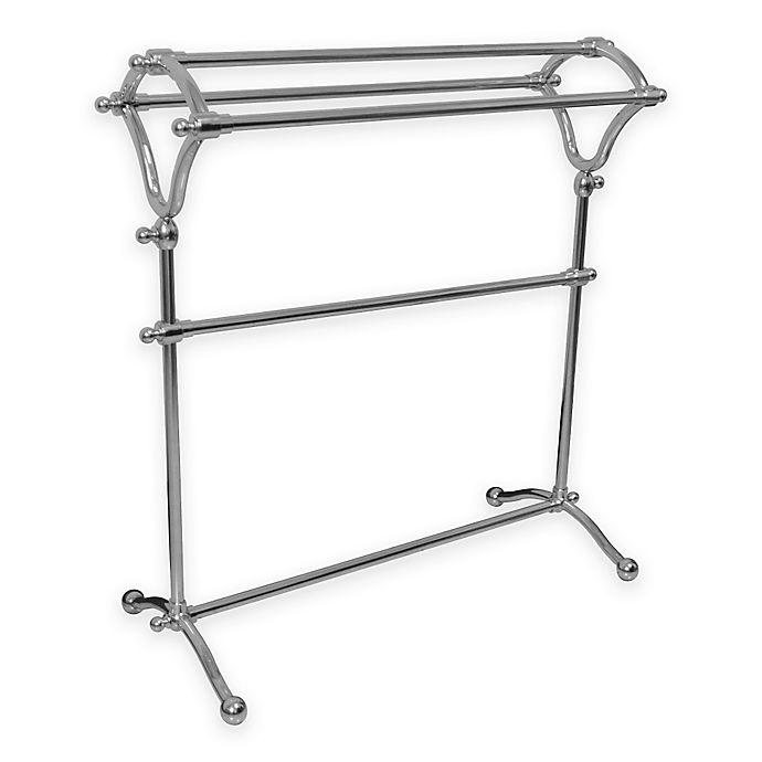 Kingston Brass 3 Tier Freestanding Y Type Towel Rack Bed