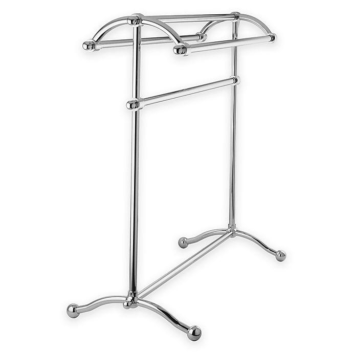 Alternate image 1 for Kingston Brass 3-Tier Freestanding Towel Rack in Chrome