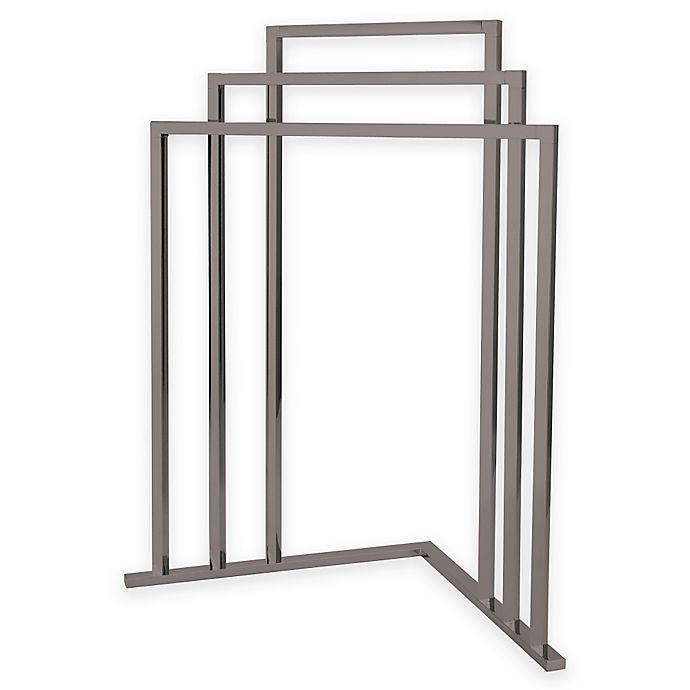 Alternate image 1 for Kingston Brass 3-Tier Freestanding Corner Towel Rack