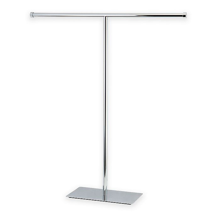 Alternate image 1 for Kingston Brass Claremont Free-Standing Towel Rack in Chrome