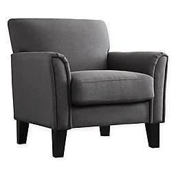 iNSPIRE Q® Walser Arm Chair in Charcoal