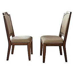 Steve Silver Co. Wayland Side Chairs in Driftwood (Set of 2)
