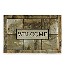 Mohawk Home® Natural Mineral 35-Inch x 23-Inch Welcome Mat