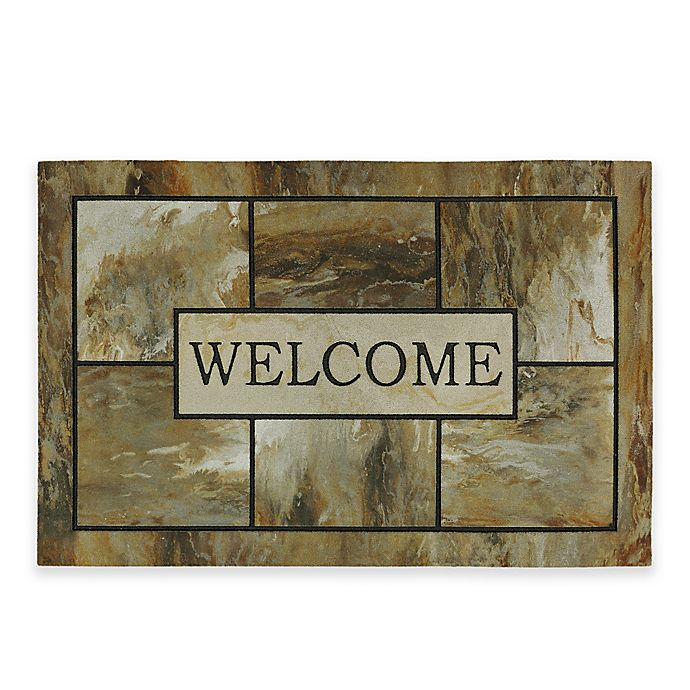 Alternate image 1 for Mohawk Home® Natural Mineral 35-Inch x 23-Inch Welcome Mat