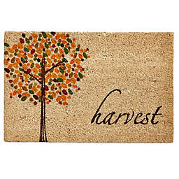 TAG® 18-Inch x 28-Inch Turning Leaves Door Mat in Beige