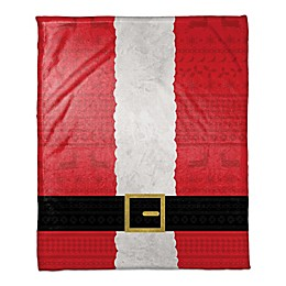 Santa Suit Throw Blanket