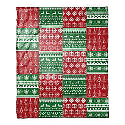 Christmas Quilt Throw Blanket