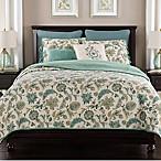Beaumont Full/Queen Reversible Quilt in Blue