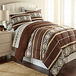 Micro Flannel® Comforter Set in Reindeer Stripe