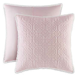 Piper & Wright Rosalie European Pillow Sham in Pink