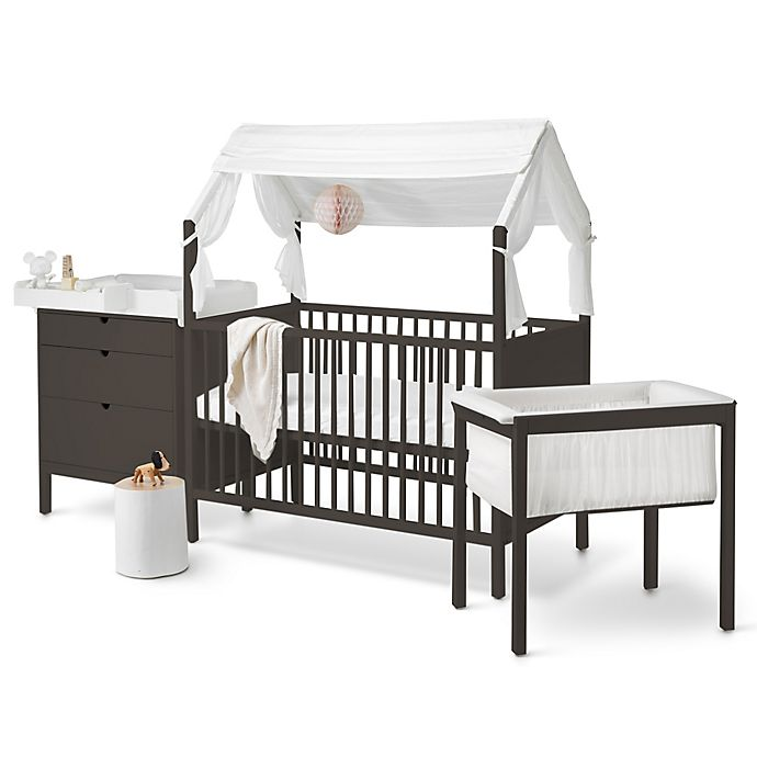 Stokke Home Nursery Furniture Collection In Hazy Grey White