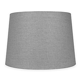 Medium 14-Inch Lamp Shade in Grey