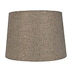 Mix & Match Medium 14-Inch Textured Lamp Shade in Brown