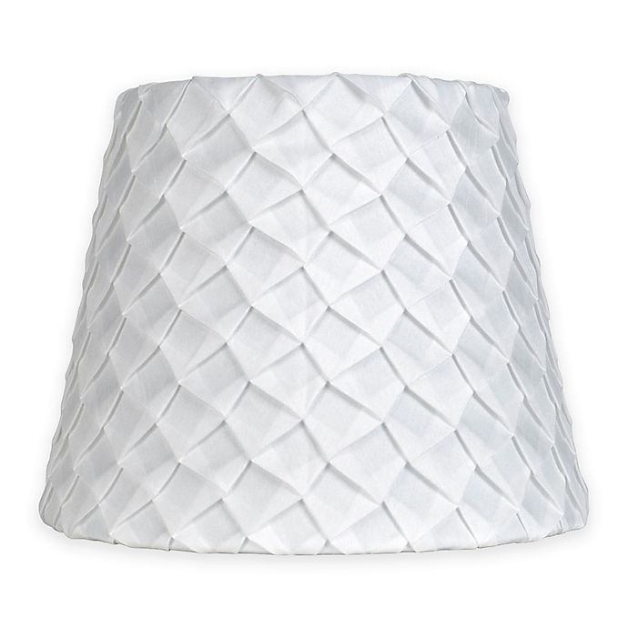 Mix Amp Match Small 9 Inch Textured Pleat Lamp Shade In