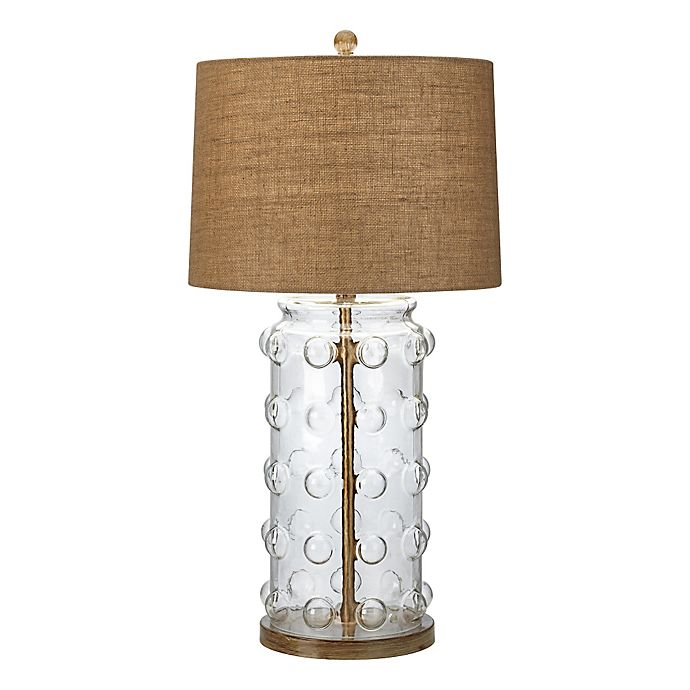Alternate image 1 for Pacific Coast Lighting® Capistrano Table Lamp with Burlap Shade