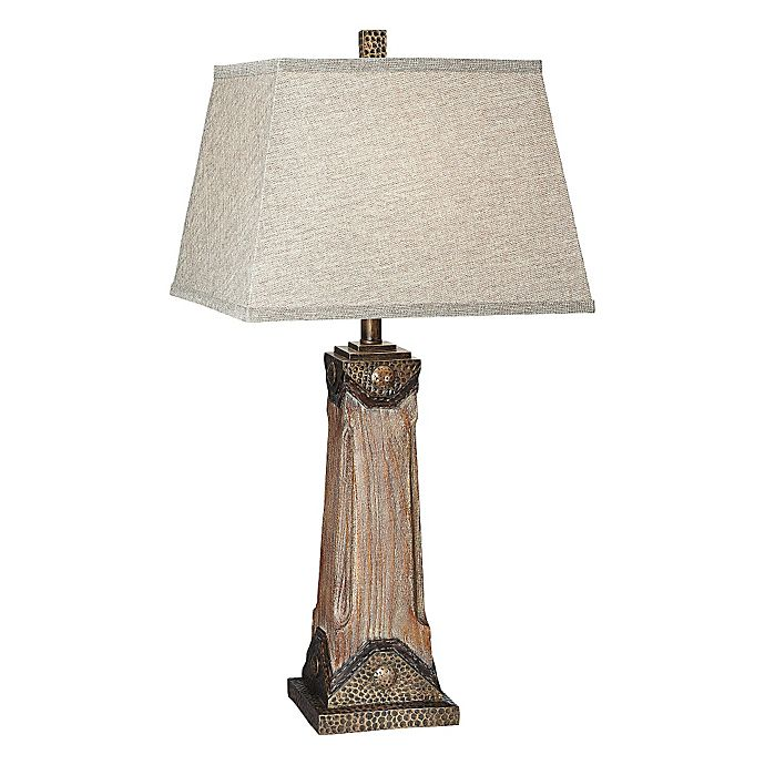 Pacific Coast Lighting Customer Service: Pacific Coast Lighting® Sierra Grande Table Lamp In Dark