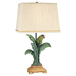 Kathy Ireland Gallery® Tropical Parrot Table Lamp