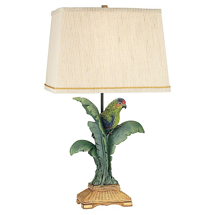 Alternate image 1 for Kathy Ireland Gallery® Tropical Parrot Table Lamp
