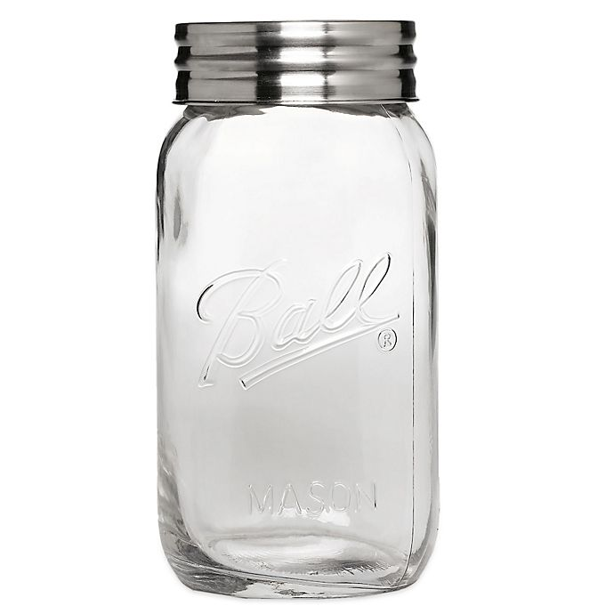 buy ball 1 gallon super wide mouth glass jar from bed bath beyond. Black Bedroom Furniture Sets. Home Design Ideas