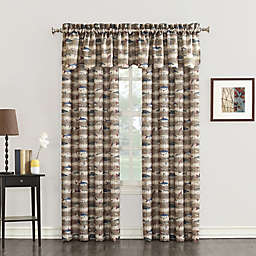 Cove Window Curtain Collection in Mocha