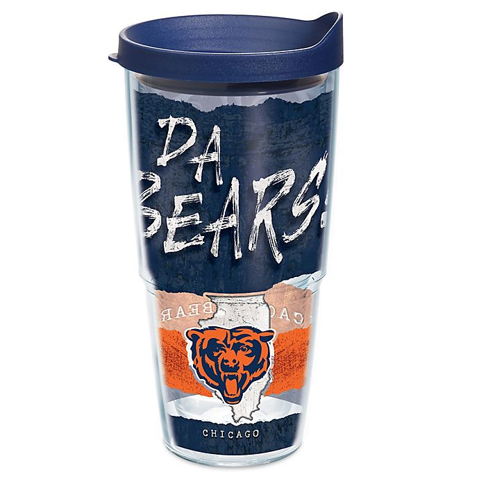 Alternate image 1 for Tervis® NFL Chicago Bears 24 oz. Statement Wrap Tumbler with Lid