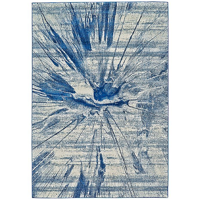 Alternate image 1 for Feizy Caslon Splatter 10-Foot x 13-Foot 2-Inch Area Rug in Cobalt
