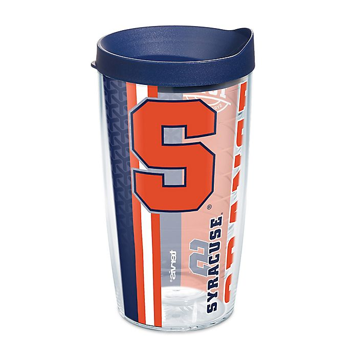 Alternate image 1 for Tervis® Syracuse University Orangemen 16 oz. Pride Wrap with Lid