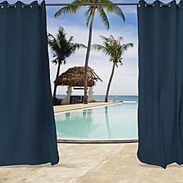 Sunbrella® Spectrum Grommet Top Indoor/Outdoor Curtain Panel in Indigo