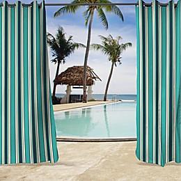 Sunbrella® Surfside Grommet Top Indoor/Outdoor Curtain Panel in Blue