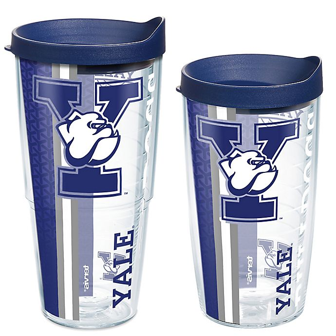 Alternate image 1 for Tervis® Yale University Bulldogs Pride Wrap with Lid