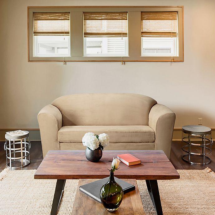 Remarkable Furnitureskins Madison Stretch Suede Loveseat Slipcover Unemploymentrelief Wooden Chair Designs For Living Room Unemploymentrelieforg