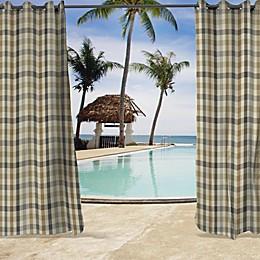 Sunbrella® Connect Grommet Top Indoor/Outdoor Curtain Panel