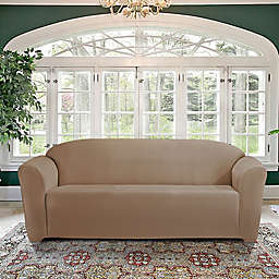 FurnitureSkins™ Kensington Sofa Slipcover in Biscuit