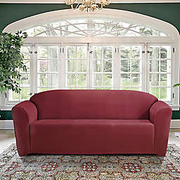FurnitureSkins™ Kensington Sofa Slipcover in Merlot