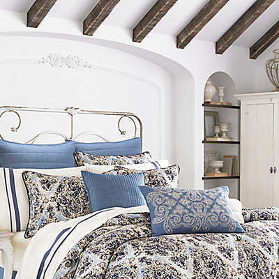 Piper & Wright Santorini Duvet Cover in Indigo