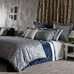Frette At Home Florenta Duvet Cover in Ocean