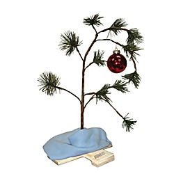 Peanuts® Charlie Brown 24-Inch Christmas Tree with Music Chip