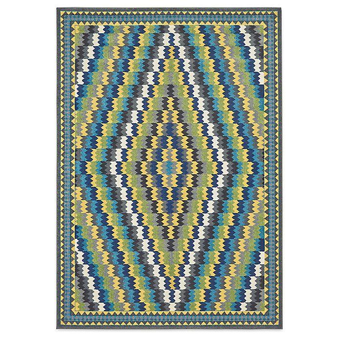 Alternate image 1 for Feizy Caslon Diamonds 8-Foot x 11-Foot Multicolor Area Rug