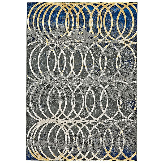 Alternate image 1 for Feizy Caslon Settat Circle Lock 8-Foot x 11-Foot Area Rug in Grey