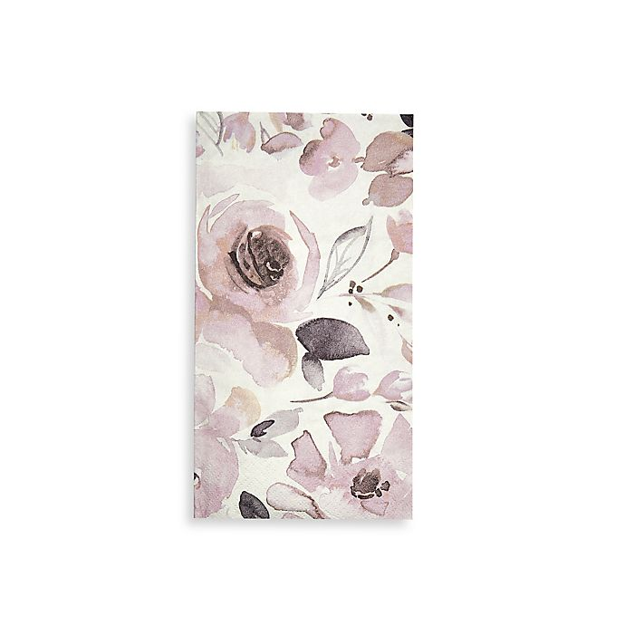 Paper Guest Towels Bathroom: Buy Watercolor Rose 16-Count Paper Guest Towels From Bed