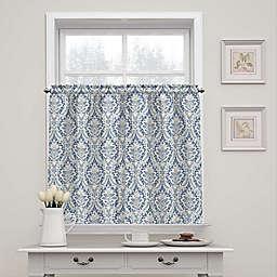 Waverly Donnington Damask 36-Inch Window Curtain Tier Pair
